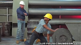 ClubInfernoDungeon - Lowering Construction Worker Pays His Dues