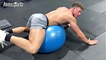 Straight sport mma wrestling man meat and sexy legs in squeezing lycra spandex spotted within reach the gym