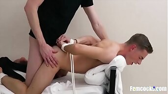 Dad And Uncle Tied Teen Up And Fucked