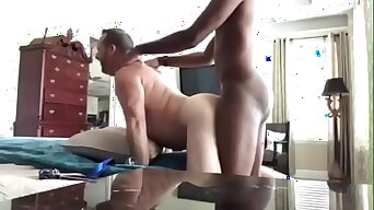 White Dads love young BBC , Raw and Deep interracial breeding