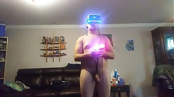 Video games and cock in Virtual reality
